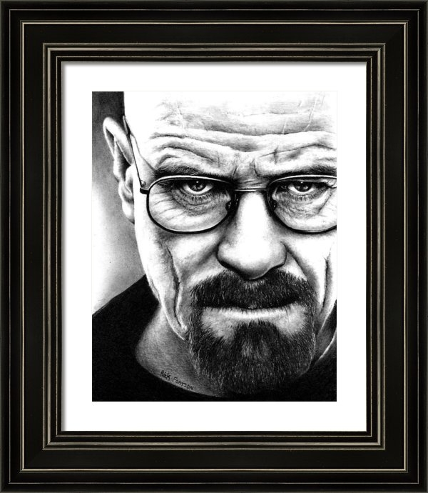 Rick Fortson - Walter White Breaking Bad Print