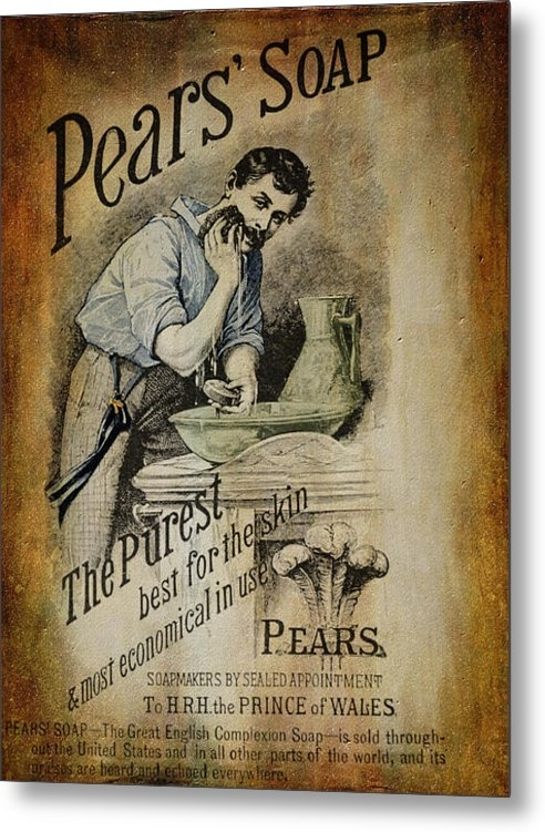 Pamela Phelps - Pears Soap Advertisement ... Print