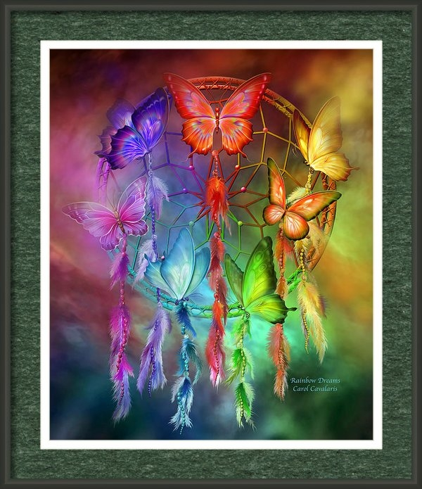 Carol Cavalaris - Rainbow Dreams Print