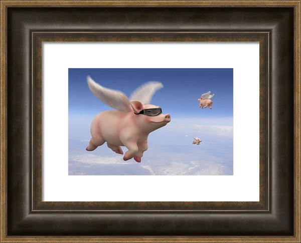 Mike McGlothlen - Pigs Fly Print