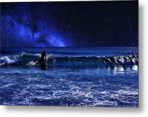 Laura  Fasulo - Night Surfer Print