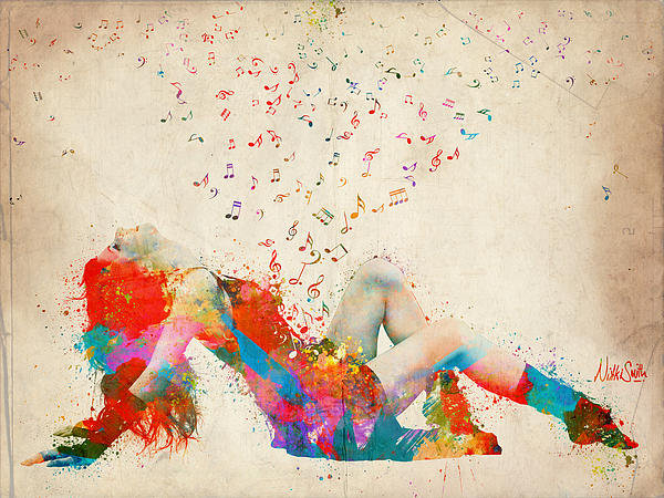 Nikki Smith - Sweet Jenny Bursting with... Print