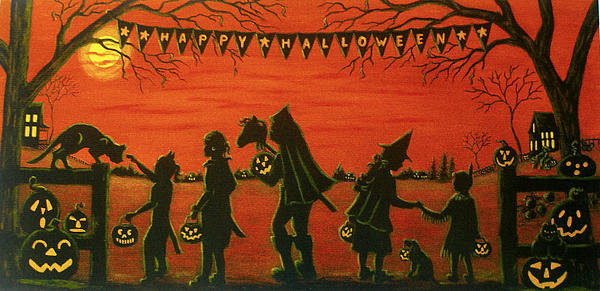 Christine Altmann - Happy Halloween Print
