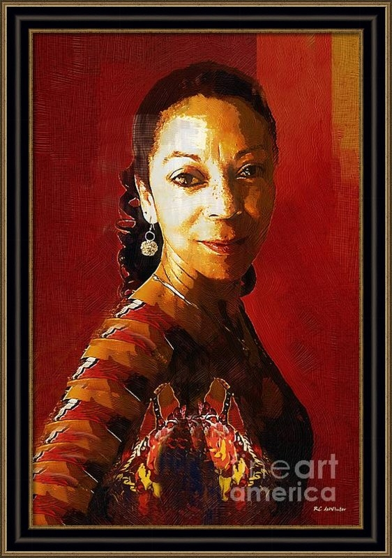 RC deWinter - Madame Exotic Print