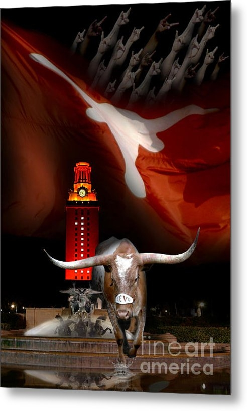 Randy Smith - Texas-Victory Print