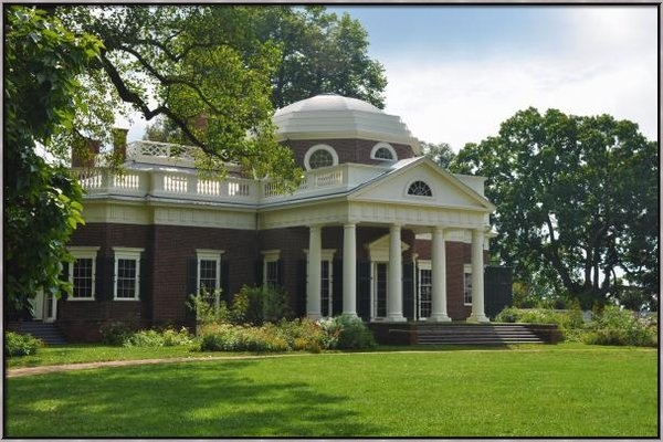Bill Cannon - Jeffersons Monticello Print