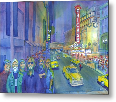David Sockrider - Widespread Panic Chicago  Print