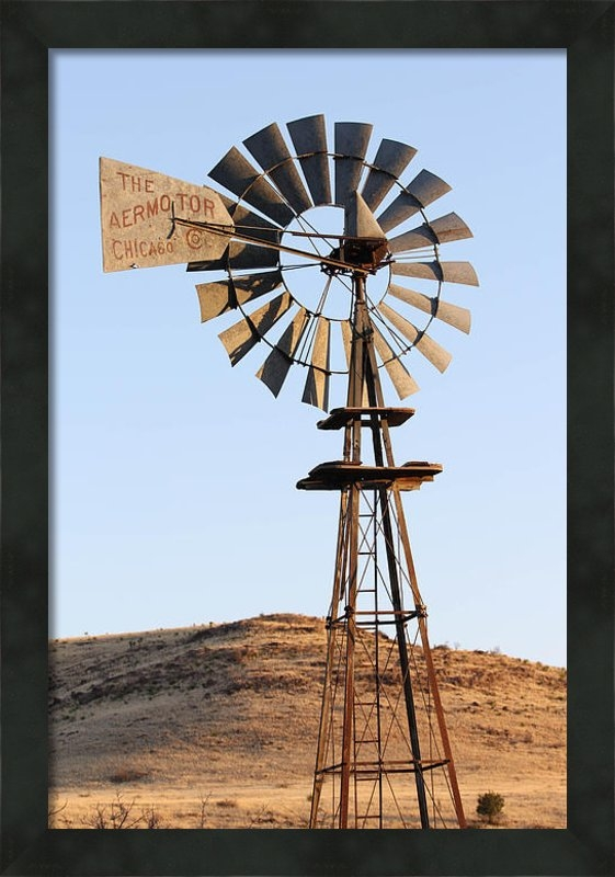 Renny Spencer - Windmill at Rest 3-30-201... Print