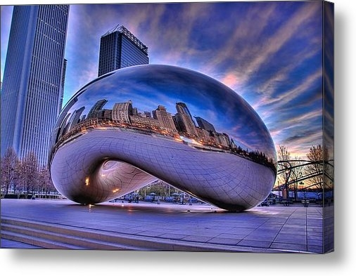 Jeff Lewis - Cloud Gate Print