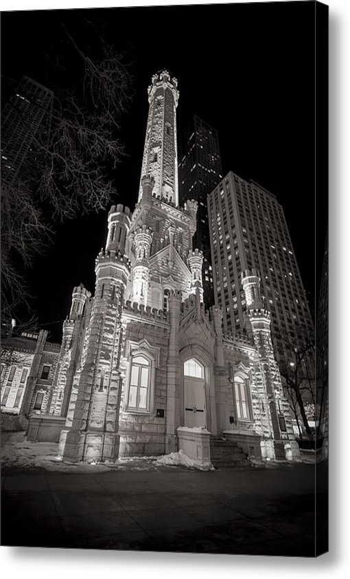 Adam Romanowicz - Chicago Water Tower Print
