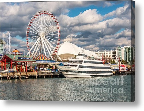Paul Velgos - Chicago Navy Pier Photo Print