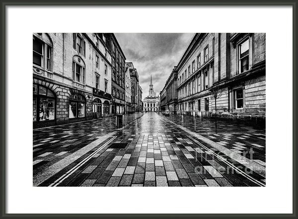 John Farnan - Merchant City Glasgow Print
