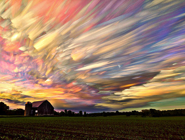 Matt Molloy - Sunset Spectrum Print