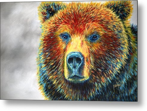 TeshiaArt - Bear Thoughts Print