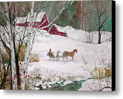 Sherri Crabtree - Winter Journey Print