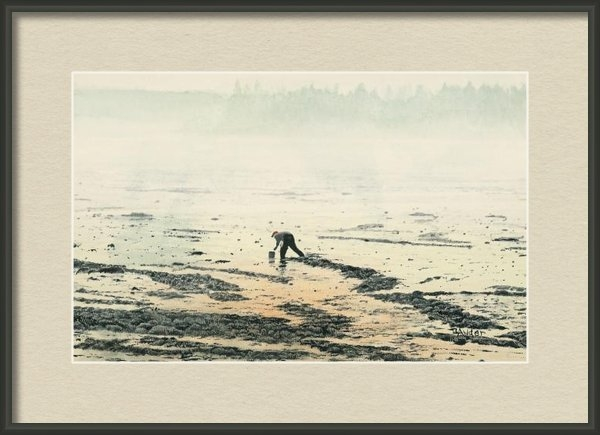 Brent Ander - Harvesting the Flats Print