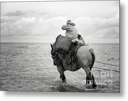 HJBH Photography - Fisherman on the back of ... Print