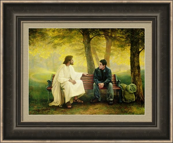 Greg Olsen - Lost and Found Print