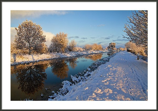 Mike Pinn - Winter Canal Print