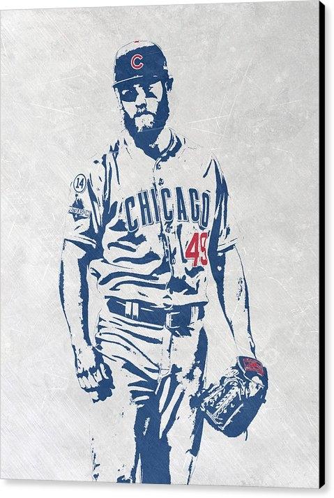 Joe Hamilton - Jake Arrieta CHICAGO CUBS... Print
