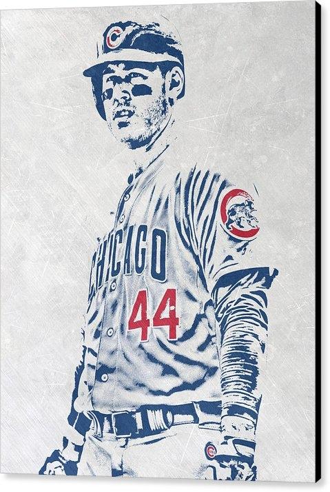Joe Hamilton - Anthony Rizzo CHICAGO CUB... Print