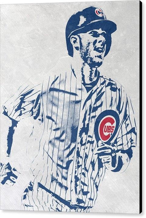 Joe Hamilton - kris bryant CHICAGO CUBS ... Print