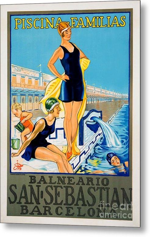 Jon Neidert - Barcelona Vintage Travel ... Print