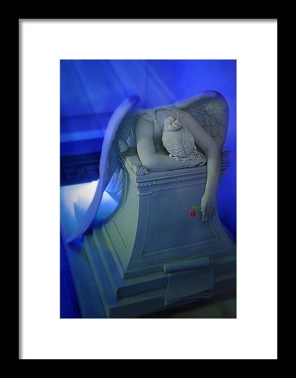 Don Lovett - Weeping Angel front view Print