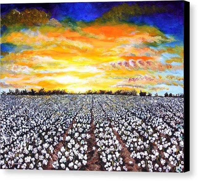Karl Wagner - Mississippi Delta Cotton ... Print