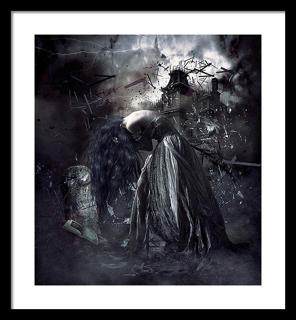 Shanina Conway - Fall of the house of Ushe... Print