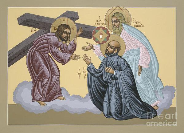 William Hart McNichols - St Ignatius Vision at La ... Print
