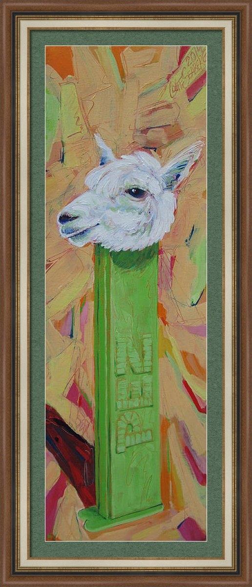 Jeff Seaberg - Alpaca Pez Print