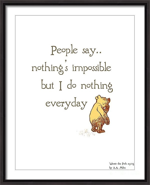 Linde Townsend - Nothing...just sayin Print