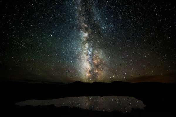 Darren White - 2 1/2 Mile High Milky Way Print