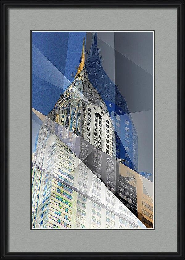 Rene Sheret - Chrysler Building Seven Print