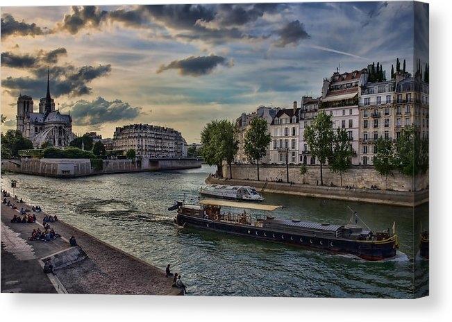 Lori Figueroa - The sights of the Seine R... Print