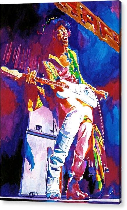 David Lloyd Glover - Jimi Hendrix - THE ULTIMA... Print