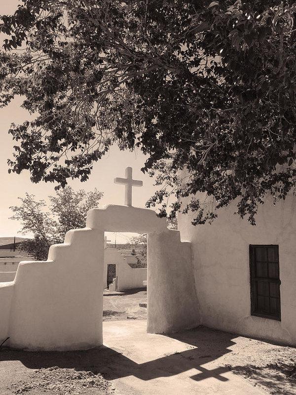 Gordon Beck - Laguna Mission Gate Monoc... Print