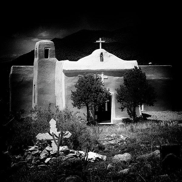 David Patterson - San Francisco Church in N... Print