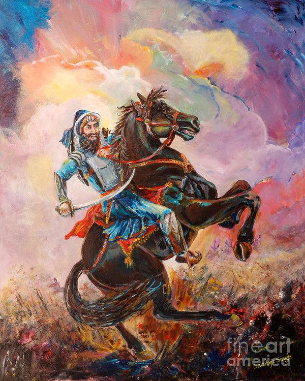 Sarabjit Singh - Banda Singh Bahadur Print