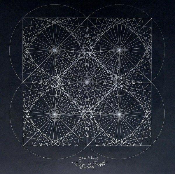 Jason Padgett - Plancks Blackhole Print
