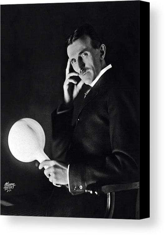 Daniel Hagerman - TESLA and WIRELESS LIGHT ... Print