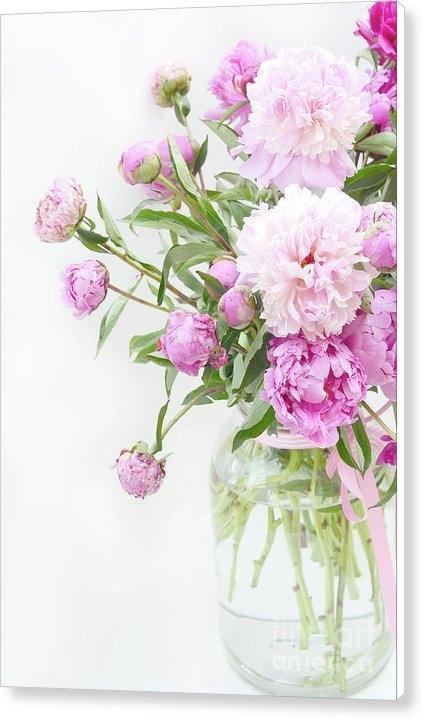 Kathy Fornal - Romantic Pastel Summer Ga... Print