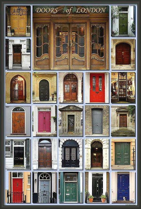 Heidi Hermes - Doors of London Print