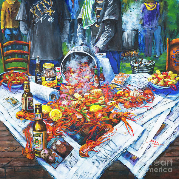 Dianne Parks - The Crawfish Boil Print