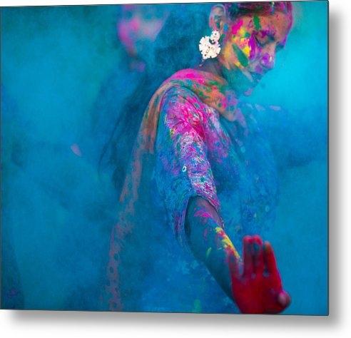 Roberto Adrian - Holi Festival Colors Print