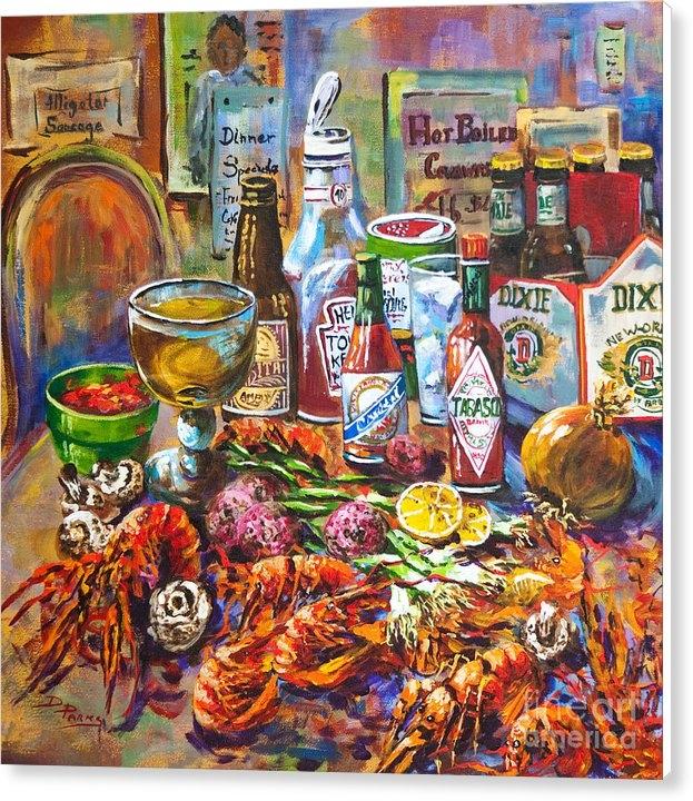 Dianne Parks - La Table de Fruits de Mer Print