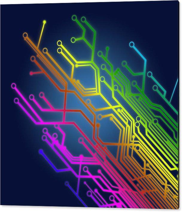 Setsiri Silapasuwanchai - Circuit Board Print