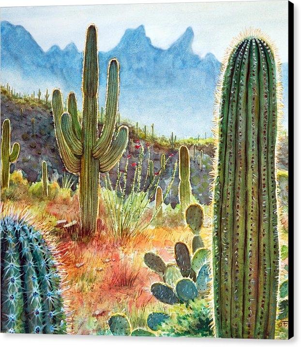 Frank Robert Dixon - Desert Beauty Print