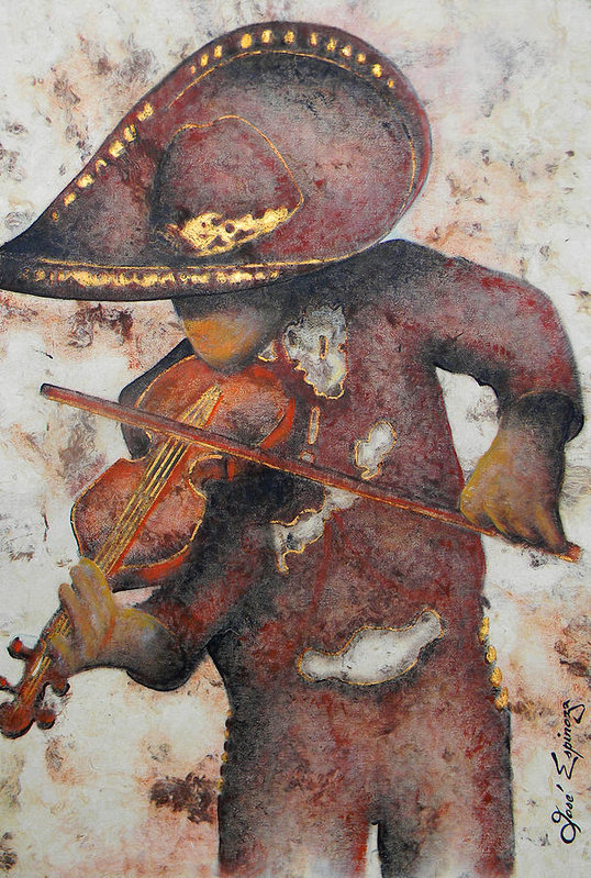 Jose Espinoza - Mariachi I Print